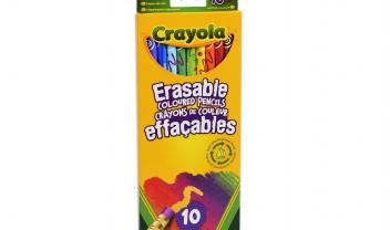 10 Erasable Color Pencils
