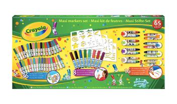 boite de 60 feutres crayola