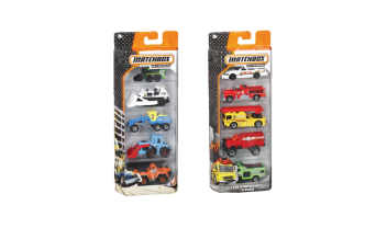 MatchBox 5 Pack Asst.