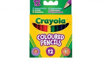 Half Length Colouring Pencils