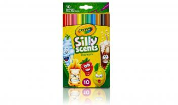 10 Silly Scents Fineline Markers