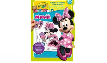 Coloring and Stickers Album - Minnie