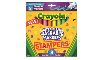 8ct Ultra- Clean Washable Stamper Markers