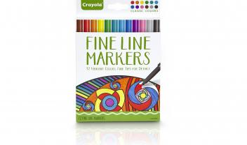 Aged Up Coloring 12 Fineline Markers - Classic