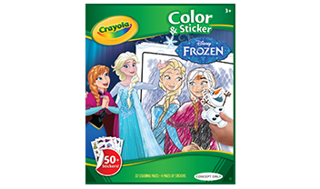 Frozen - Colour & Sticker