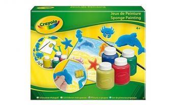 Sponge Painting Kit