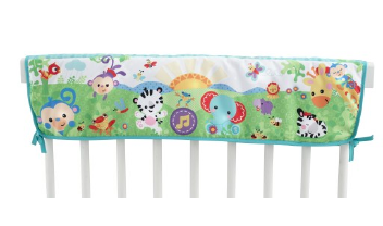 Woodland Friends Twinkling Lights Crib Rail Soother
