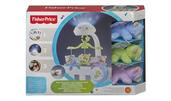 Butterfly Dreams™ 3-in-1 Projection Mobile