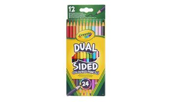Crayola Dual Sided Pencils 12pk
