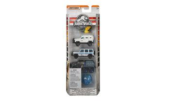 Matchbox Jurassic World Die-cast 5 Pack Vehicle.