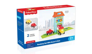 Roadway Set with House & Gate