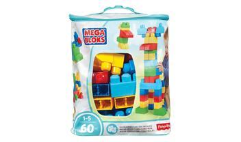 First Builders® Big Building Bag 60 Pcs