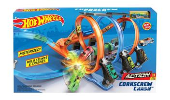 Hot Wheels® Corkscrew Crash™ Trackset