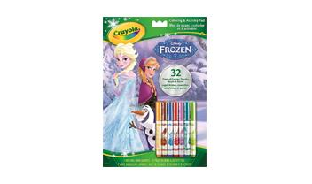 Disney Frozen Color and Activity Book