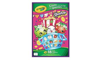 Shopkins Giant Coloring Pages Book