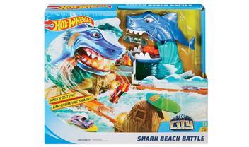 Hot Wheels® City Shark Beach Battle Play Set