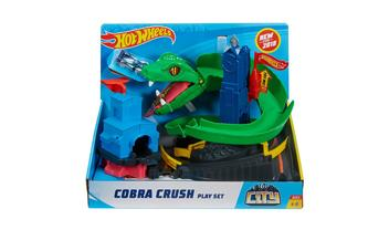 Hot Wheels® City Cobra Crush Play Set