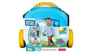 Mega Bloks® Building Basics Take-Along Builder