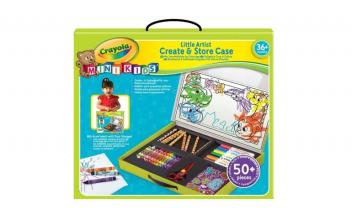 Mini Kids Crayola Create And Store Case