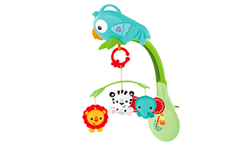 Rainforest Friends 3-in-1 Musical Mobile