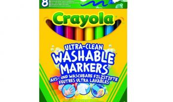 8 Ultra Washable Broad Markers