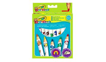 8 maxi coloured pencils