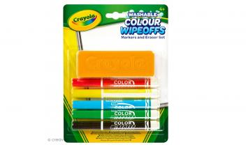 Wipeoffs and Eraser Set
