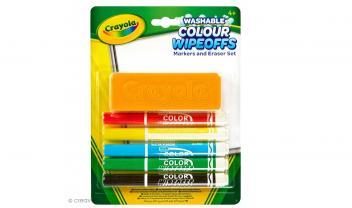 Wipeoffs and Eraser Set