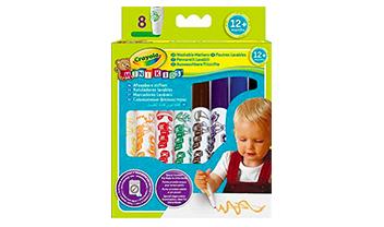 8 mini kids pens