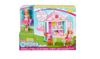 Club Chelsea™ Doll and Clubhouse